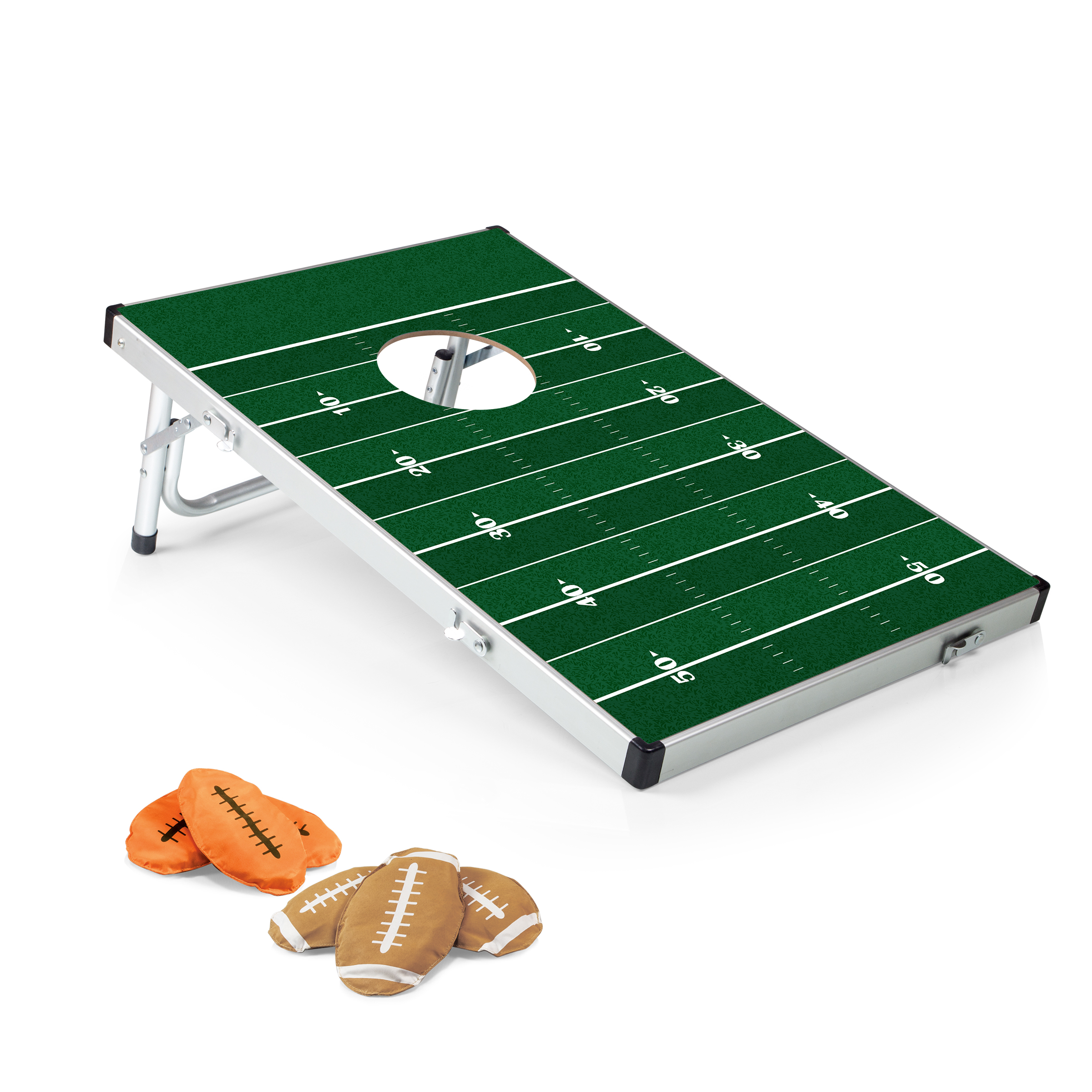 Bean Bag Toss Travel Set Football Edition Picnic Time