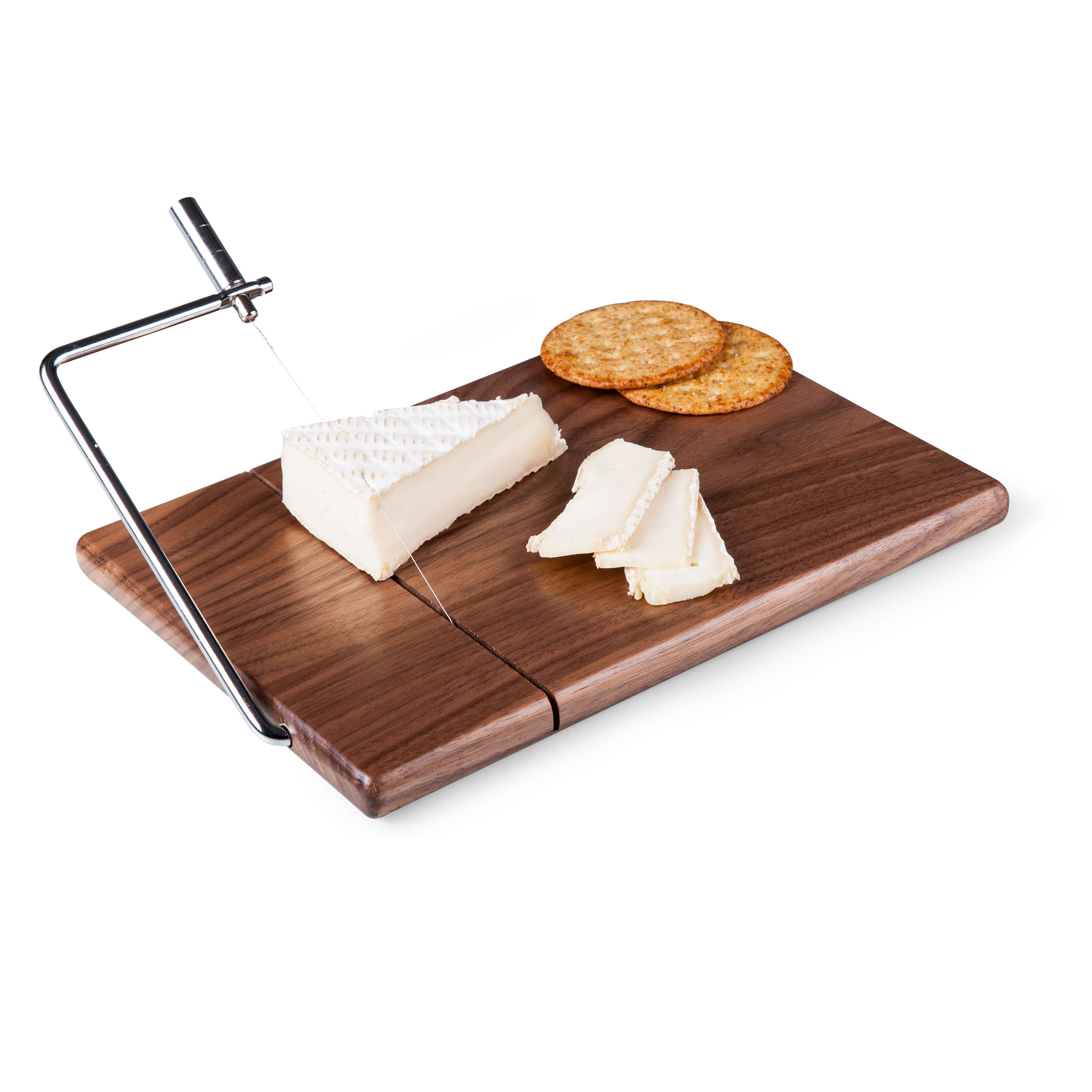 Meridian Black Walnut Cutting Board and Cheese Slicer - PICNIC TIME ...